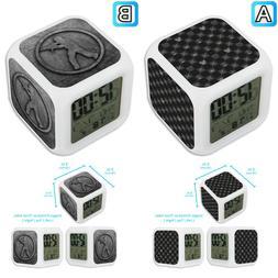 Counter Strike CS Kingdom Hearts Alarm Digital Clock LED Lig
