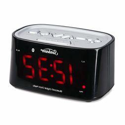 Sunbeam CR1009 Bluetooth Clock Radio Dual Alarm USB Port 110