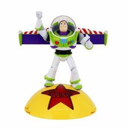 Cute Alarm Clock Toy Story Talking Buzz Lightyear AM/FM Radi