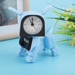 Cute Cartoon Deformed Dog Clock Kids Wake Up Alarm Clocks Ti