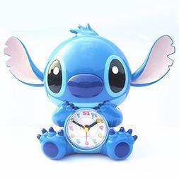 YOURNELO Cute Cartoon Stitch Boy's Girl's Alarm Clock