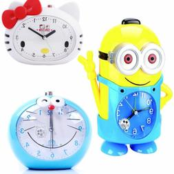 Cute Cartoon Voice Alarm Clock Minions / Kitty Cat / Jingle