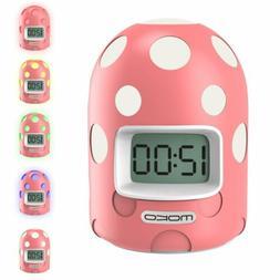MoKo Cute Kids Digital Alarm Clock Color Changing Night Ligh
