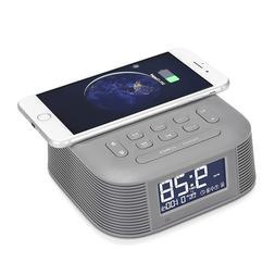 InstaBox D10 Wireless Charging Alarm Clock Radio Bluetooth S
