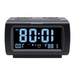 decent alarm clock radio fm usb port