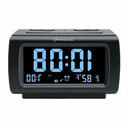 DreamSky Decent Alarm Clock Radio FM Radio, USB Port for Cha