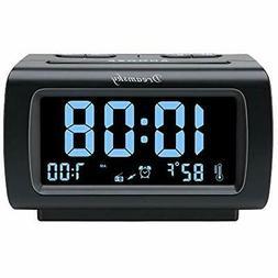 Decent Alarm Clock Radios FM Radio, USB Port For Charging, 1
