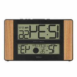 Decorative Atomic Digital Clock With Outdoor Temperature For