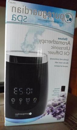 Deluxe Aromatherapy Ultrasonic Oil Diffuser & Alarm Clock -