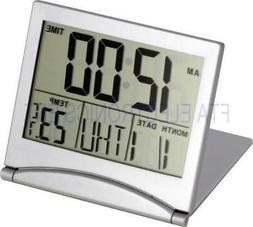 Desk Alarm Clock Calendar Alarm Day Temperature Digital Larg