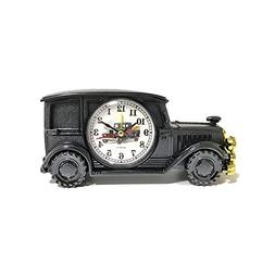 Desk Shelf Alarm Clock ROOVON Classic Vintage Antique Car Gi