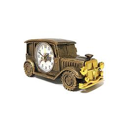 ROOVON Desk Shelf Alarm Clock Classic Vintage Car Model Elec