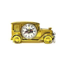ROOVON Desk Shelf Alarm Clock Vintage Classic Antique Car El