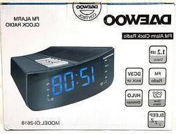 Daewoo DI-2618 Alarm Clock Radio 220v 220 Volt Export Overse