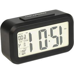 "RCA Digital Alarm Clock 4.6"" LED Display Calendar + Temperat"