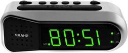 Digital Alarm Clock Ascending Alarm Begins Faintly And Grows