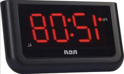 Digital Alarm Clock Home Decor Large Red LED Display Big Num