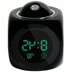 Digital Alarm Clock LED Wall Ceiling Projection LCD Digital