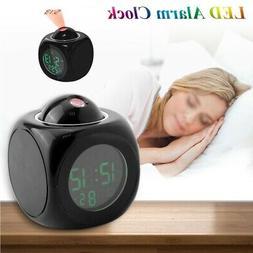 Digital Alarm Clock Multifunction With Voice Talking LED Pro