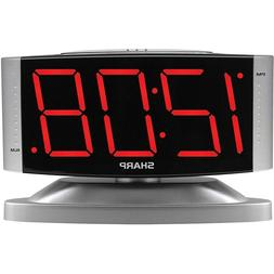 Digital Alarm Clock Snooze Large Display LED Loud Night Ligh