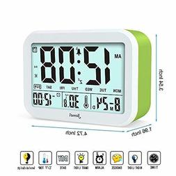 Digital Alarm Clock Jiemei Talking Alarm Clocks for Kids Adu