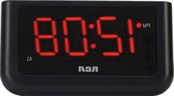 "RCA Digital Alarm Clock with Large 1.4"" Display, Easy to use"