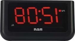 "NEW RCA Digital Alarm Clock with Large 1.4"" Display"