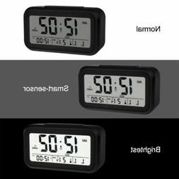 Digital Alarm Clock With Voice Talking LED Temperature Backl
