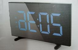 Digital Alarm Clocks for Bedrooms 6.5 Inches LED Clock with