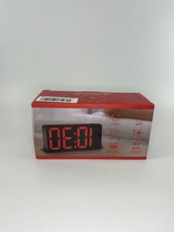 Dreamsky Digital Display Alarm Clock Radio with USB Ports fo