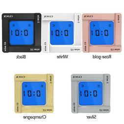 Digital Flip Alarm Clock Time Manager Reminder Vibration Cou