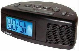 Westclox Digital LCD Alarm Clock Battery Operated Loud or So