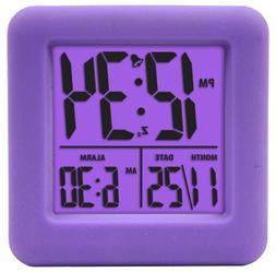 Digital LCD Display Alarm Clock for Girls Kids Teens Backlig