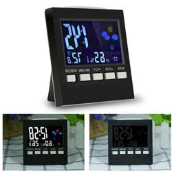 Digital LCD Thermometer Humidity Meter Hygrometer Room Tempe