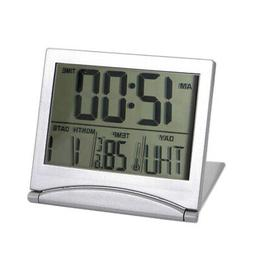 Digital LCD Weather Station Folding Desk Temperature Travel