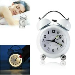 Digital LED Alarm Clock Large Screen Snooze Battery Powered