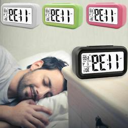 Digital LED Alarm Clock Snooze Table Clock Electric Clock Ca