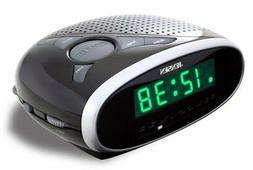 DIGITAL LED DUAL ALARM CLOCK AM/FM RADIO AUX-IN for MUSIC iP