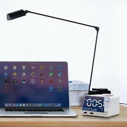 Digital Smart Alarm Clock Radio Bluetooth Speaker with Dual