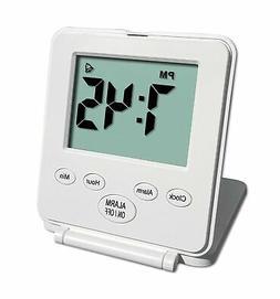 Digital Travel Alarm Clock - No Bells, No Whistles, Simple B