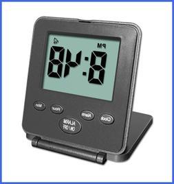 Digital Travel Alarm Clock No Bells Whistles Simple Basic Op