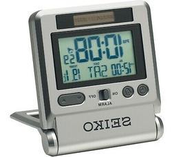 Seiko Digital Travel Alarm Clock - QHL066S-NEW