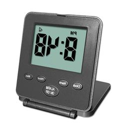 digital travel alarm clock simple operation loud