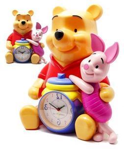 Disney Winnie The Pooh & Piglet 12 Talking Alarm Clock & Ban