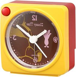 Disney Winnie the Pooh Piglet quartz alarm clock  FD471Y