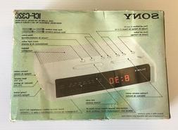 Sony Dream Machine ICF-C320 220V  New in Box!
