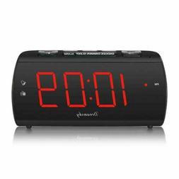 DreamSky DS203 Alarm Clock Radio - Black