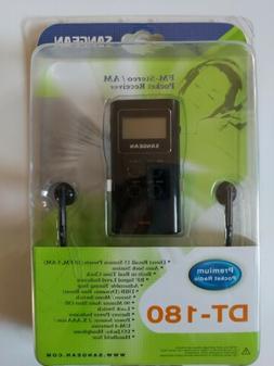 Sangean DT-180 Radio Tuner FM-Stereo/AM