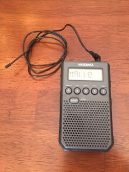 Sangean DT-800BK AM/FM / NOAA Weather Alert/Rechargeable / A
