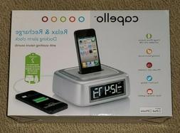 Capello Dual Alarm Clock FM Radio IPod & Iphone Docking Stat